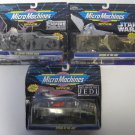 VINTAGE STAR WARS MICRO MACHINES SPACE GALOOB 1993 #65860 Collections 3 Packages