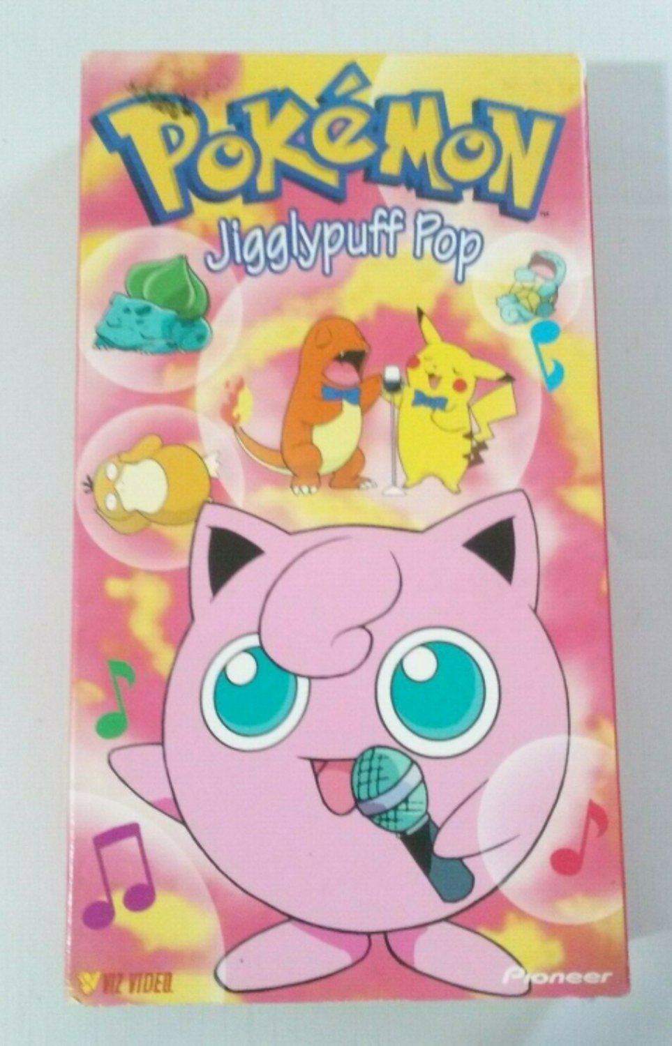 Pokemon Jigglypuff Pop Vhs Pre Owned