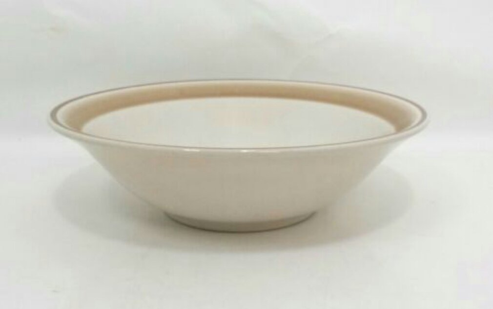 """HEARTHSIDE WATER COLORS STONEWARE Coupe Cereal Bowl 6 3/4"""""""