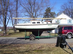 23' Sailboat and Trailer