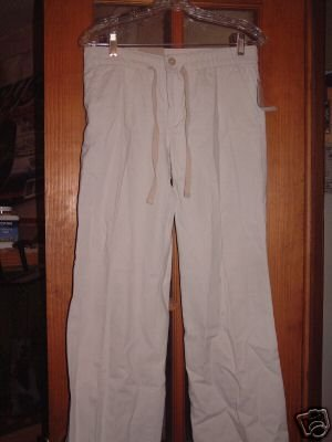 NWT's GAP Drawstring Khaki Pants sz 4