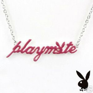 Playboy Playmate Darling Necklace NEW