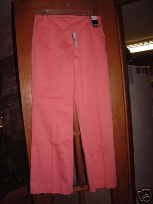 NWT's New York & Co Low Rise Tribeca Trouser sz 6