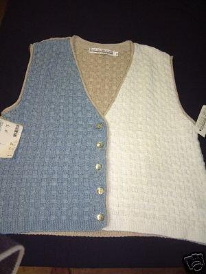 NWT's Delia McKain Sweater Vest sz M $39.00