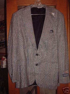 NWT's Kenneth Roberts Silk Jacket sz 42R $165.00