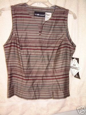 NWT's Sag Harbor Sleeveless Top sz 6