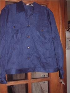 NWT's Draper & Damons Jacket sz P/L
