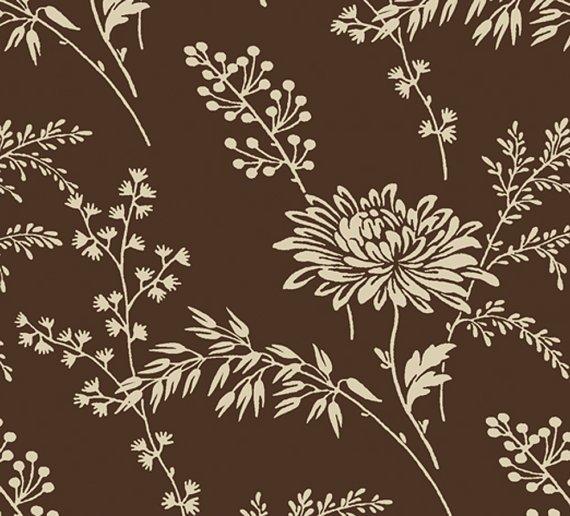 Fabric - Dark Chocolate by Sara Morgan 7395