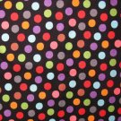 Cotton Fabric - Rumba - 5707 Candy Dots - Black - Hoodie's Collection