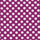 Cotton Fabric - Polka Dots by Michael Miller - Magenta