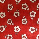 Cotton Fabric by Tidings Of Great Joy - Floral - Red