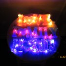 HOME resin with light sign