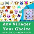 Animal Crossing Amiibo Cards| for AC New Horizon New Leaf