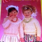 Child Sweater Knitting Pattern Kid's Stuff  with Patons Yarns 11 designs to knit