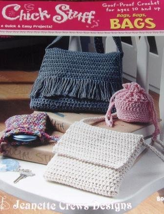 Crochet Chick Stuff, Crochet Bags and Purses Pattern , Great Pattern  for Learners