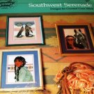 Southwest Seranade Cross Stitch Pattern 6 Designs, Indian Children, Snow Pots