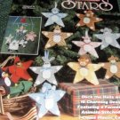 Plastic Canvas Pattern, Decorate your tree with Christmas Animal Stars Holiday Ornaments
