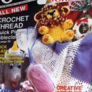 Crochet World Dec. 1990 Crochet Patterns for Pineapple Tablecloth, Baby Bottle Cozies and More!