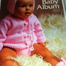 Knitting Crochet Pattern for infants babies Bernat Baby Album Booties
