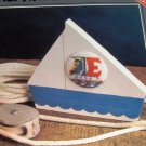 Sailboat Alphabet Nautical Cross stitch Pattern to crosstitch monogram  on clothes and more