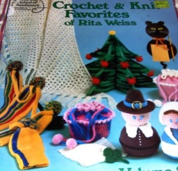 Crochet Christmas Tree Holiday Items Knit Favorites of Rita Weiss American School of Needlework.