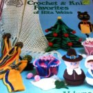 Crochet Christmas Tree Holiday Items Knit Favorites of Rita Weiss American School of Needlework.