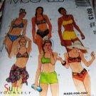 Bikini Shorts String Bikini Wrap Swim Suit McCall's 8813 Size 18 Suit Yourself Sewing Pattern