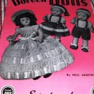 Vintage Doll Pattern 1951 Doreen Dolls Volume 102 Baby Dolls, Bride Dolls and Southern Bells