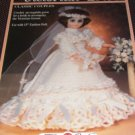 Fibre Craft Victorian Bride Crochet Pattern for 15 inch Fashion Doll