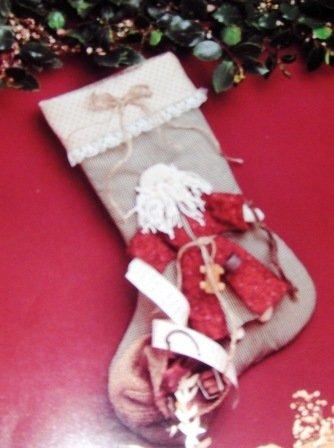 Father Christmas Stocking Sewing Pattern The Buckeye Tree  designed by Suzi McCracken