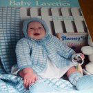 Baby Layettes to Crochet and Knit Book 3 Leisure Arts 643 Infants hats sweaters booties afghans