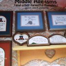 Cross Stitch Pattern Middle Age-isms and other forgetful thoughts quick stitch patterns