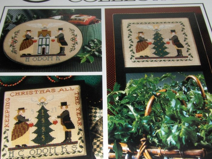 Cross Stitch Pattern The Cricket Collection No. 139 The Keeping Box Old Fashioned Charm Christmas