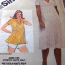 Maternity Pattern for Misses Easy dress or top size 12 Simplicity Sewing pattern no. 9954