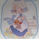 Precious Moments A Calendar Year counted cross stitch designs PM 18