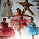 Child Halloween Costume Pattern McCall's 5613 Fairy Queen Tinker Bell Fairy Princess Ballerina Star