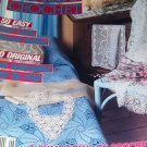 Magic Crochet Pattern Magazine Number 66 June 1990 Cowboy Butterfly Filet Doily Baby Dress Bedspread