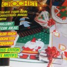 Magic Crochet Pattern Magazine Number 56 Oct.1988 Christmas Holiday Bells Angels orchids snowflakes