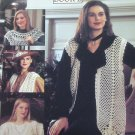 Crochet Vests Pattern Leisure Arts 2500 Very Vests Book 2 Lacy Style