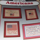 Patriotic Cross Stitch Charts Americana America the Beautiful Sampler
