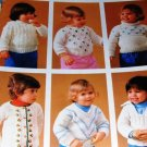Knitting Patterns  Childrens Sweaters  Six for Toddlers by Bernat 252