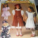 Butterick Sewing Pattern 6430 It's Enchanting Children's Overdress, Dress, Beret  sz 5-6X