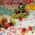Magic Crochet Pattern Magazine Number 41 April 1986 Bedspreads Mother's Day Issue