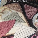 Crochet Pattern Corner Bookmarks to Crochet Leisure Arts 2749 Thread Crochet