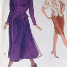 Vogue Sewing Pattern Top and Skirt pattern Size 6-8-10 number 7886