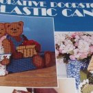 Plastic Canvas Pattern Doorstops Goose, Santa, Welcome Bears Cottage Leisure Arts 1187