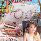 Crochet Thread Magazine Issue 6 lace bodice, doilies, basket, edgings, pillow, sachet