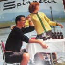 Vintage Spinnerin Knitting Pattern Sweaters Cardigans Pullover His and Hers Mens Womens sizes