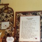 Cross Stitch Chart The Hunter's Miracle Baby Infant  Shower Gift Suggestion Hunting