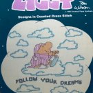Ziggy Designs Counted Cross Stitch Pattern Cartoon Charts by Tom Wilson